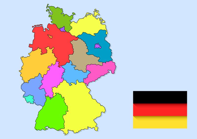 Deutschland Karte Ferienhaus Deutschland